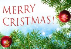 Merry christmas text seasons greetings stock images