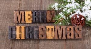 Merry Christmas Text Stock Photos