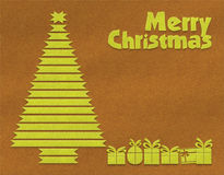 Merry Christmas textile background Royalty Free Stock Photography