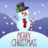 Merry Christmas thematics image 3 Stock Photo