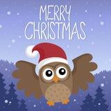 Merry Christmas thematics image 4 Stock Image