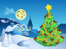 Merry Christmas theme 3 Royalty Free Stock Photo