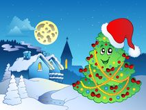 Merry Christmas theme 4 Royalty Free Stock Photos