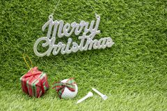 Merry Christmas to golfer