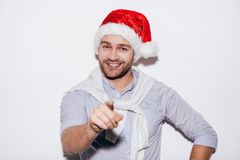 Merry Christmas to you! Stock Photography