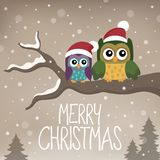 Merry Christmas topic image 6 Royalty Free Stock Photo
