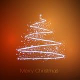 Merry christmas tree Stock Photography