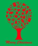 Merry Christmas-tree Royalty Free Stock Photos