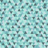 Merry Christmas triangle vector pattern, blue grey geometric winter holiday background. Merry Christmas triangle vector texture blue grey geometric background Royalty Free Stock Photography