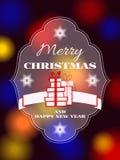 Merry Christmas type Stock Photos