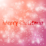 Merry Christmas Vector abstract bokeh blur background. Festive. Merry Christmas Vector abstract bokeh blur background. Festive defocused lights. design Royalty Free Stock Photo