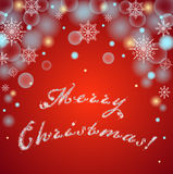 Merry Christmas!-vector background Stock Photography