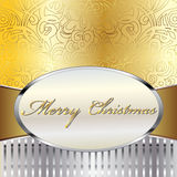 Merry Christmas Vector Card. Merry Christmas Elegant Suggestive Background for Greetings Card, vector eps10 Royalty Free Stock Photography