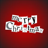 Merry Christmas - vector illustration Royalty Free Stock Photo