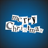 Merry Christmas - vector illustration Stock Photo