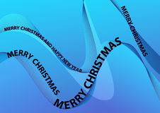 Merry Christmas Vector Illustration Royalty Free Stock Photo