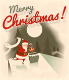 Merry Christmas. Vector illustration Stock Photography