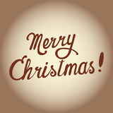 Merry Christmas. Vector Royalty Free Stock Image