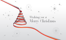 Merry christmas vector with text and icons Stock Photography