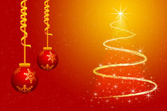 Merry christmas wallpaper Stock Photography