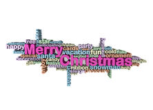 Merry christmas wallpaper Stock Photo