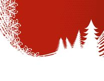 Merry Christmas wallpaper Royalty Free Stock Photography