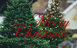 Merry Christmas Wallpaper stock photos
