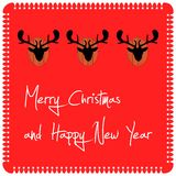 Merry christmas / wallpaper Royalty Free Stock Images