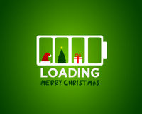 Merry christmas web sale loading concept. Abstract background Royalty Free Stock Image