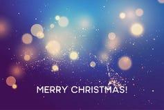 Merry christmas Winter vector blurred background. Vector illustration. EPS10 stock illustration