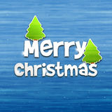 Merry Christmas Wood Texture Background Stock Photo