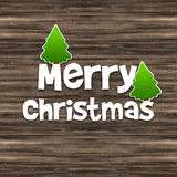 Merry Christmas Wood Texture Background Royalty Free Stock Photo