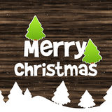 Merry Christmas Wood Texture Background Stock Images
