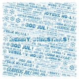 Merry Christmas word cloud - Merry Christmas on English language and other different languages. Merry Christmas word cloud - Merry Christmas on English language stock illustration