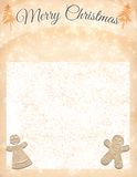 Merry Christmas! Xmas background. royalty free illustration