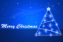 Merry christmass background. Merry christmass blue white background Stock Photography
