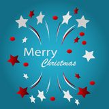 Merry christmass illustration design. Vector Royalty Free Stock Images