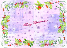 Merry christmass 4. Light bright fresh mild beauty greeting holiday christmass xmass celebrate celebration Stock Photos