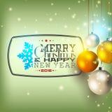 Merry Chrystmas Stock Image