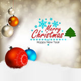 Merry Chrystmas Stock Photos