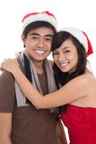 Merry couple Royalty Free Stock Photography
