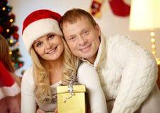 Merry couple Royalty Free Stock Photos