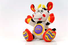 The merry cow the toy Royalty Free Stock Photos