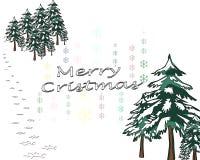 Merry cristmas Stock Image