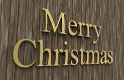 Merry cristmas. Merry Christmas color with color background Stock Image
