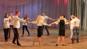 Merry dance royalty free stock photo