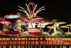 Merry-go-around. Carnivals and Mardi Grass Stock Photo