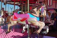 Merry Go Around Carousel Horse Royalty Free Stock Images