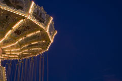 Merry go round. At night Stock Photography