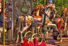 Merry-go-round stockfotografie